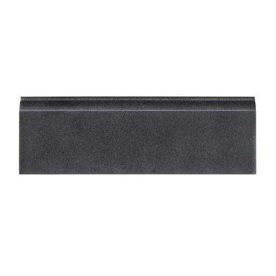 4 in. x 12 in. Honed Basalt Base Trim