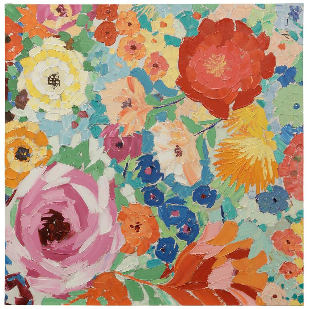 StyleCraft Floral Multicolored Canvas Wall Art was $273.99 now $105.52 (61.0% off)