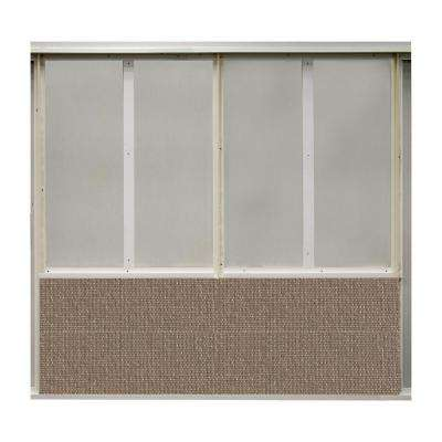 20 sq. ft. Summer Fabric Covered Bottom Kit Wall Panel