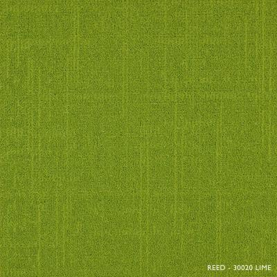 Reed Lime 19.68 in. x 19.68 in. Carpet Tiles (8 Tiles/Case)