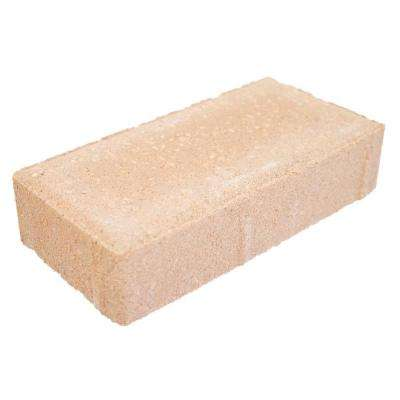8 in. x 4 in. 2.25 in. Peach Concrete Holland Paver (702 Pieces / 156 sq. ft. / Pallet)