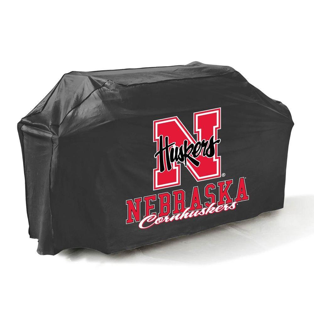 Mr. Bar-B-Q 65 in. NCAA Nebraska Cornhuskers Grill Cover-DISCONTINUED