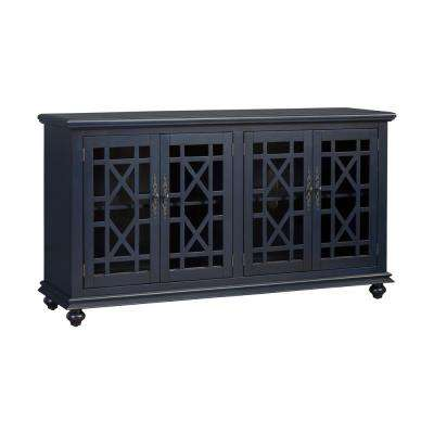 Avalon Catalina Blue Home Entertainment Center