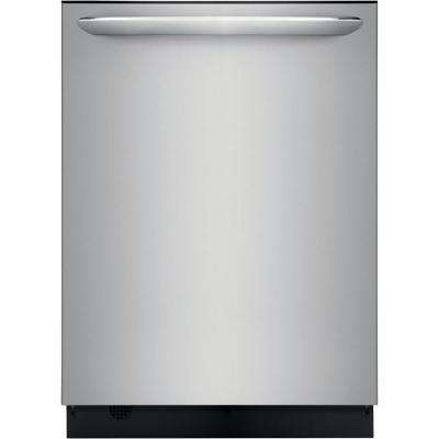 Built-in Tall Tub Dishwasher with Dual OrbitClean Spray Arm in Smudge Proof Stainless Steel, ENERGY STAR, 49 dBA