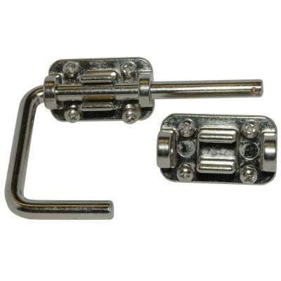 2 in. Patio Door Security Latch