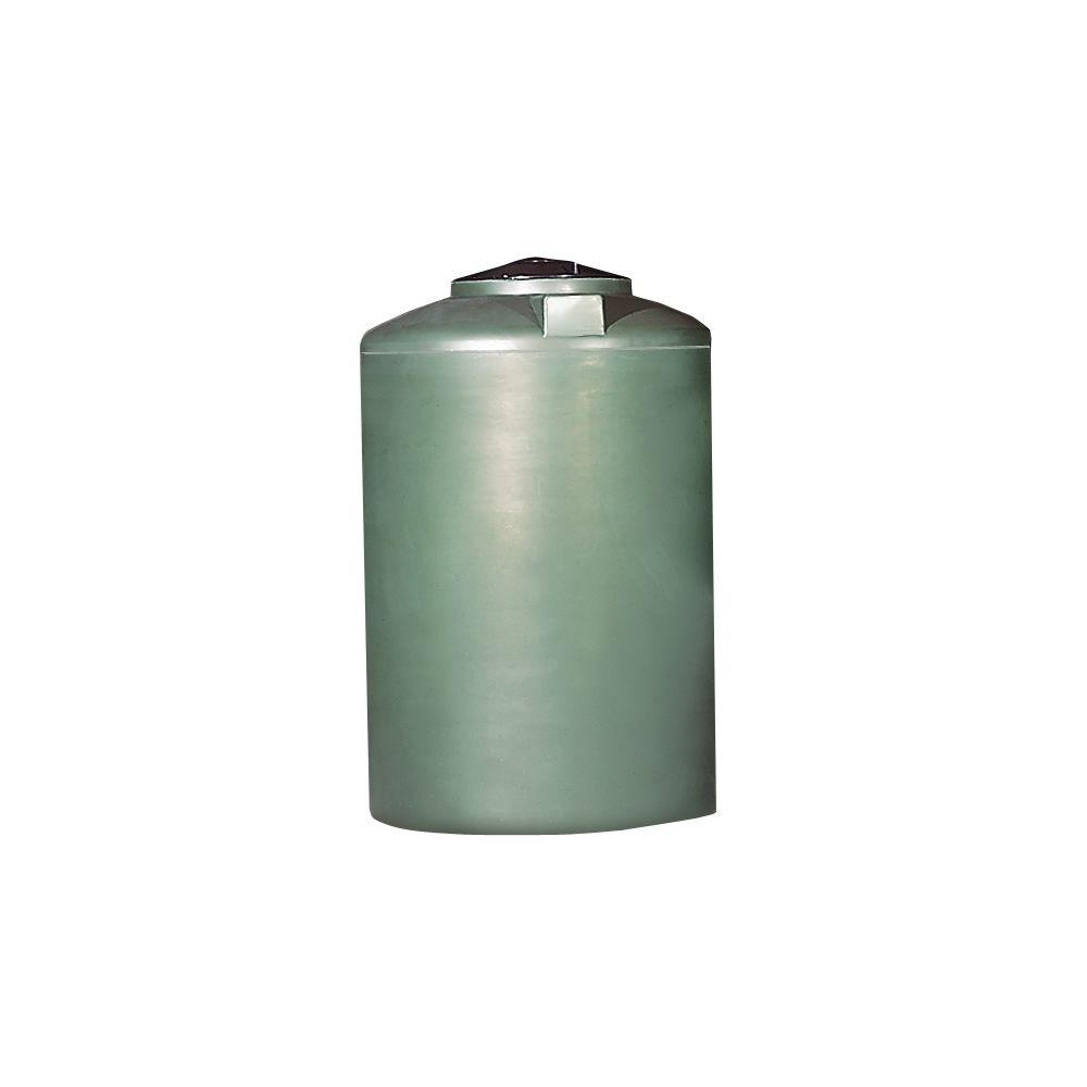 Chem tainer industries 500 gal rain barrel tc4676iw green the home depot - Home depot water container ...