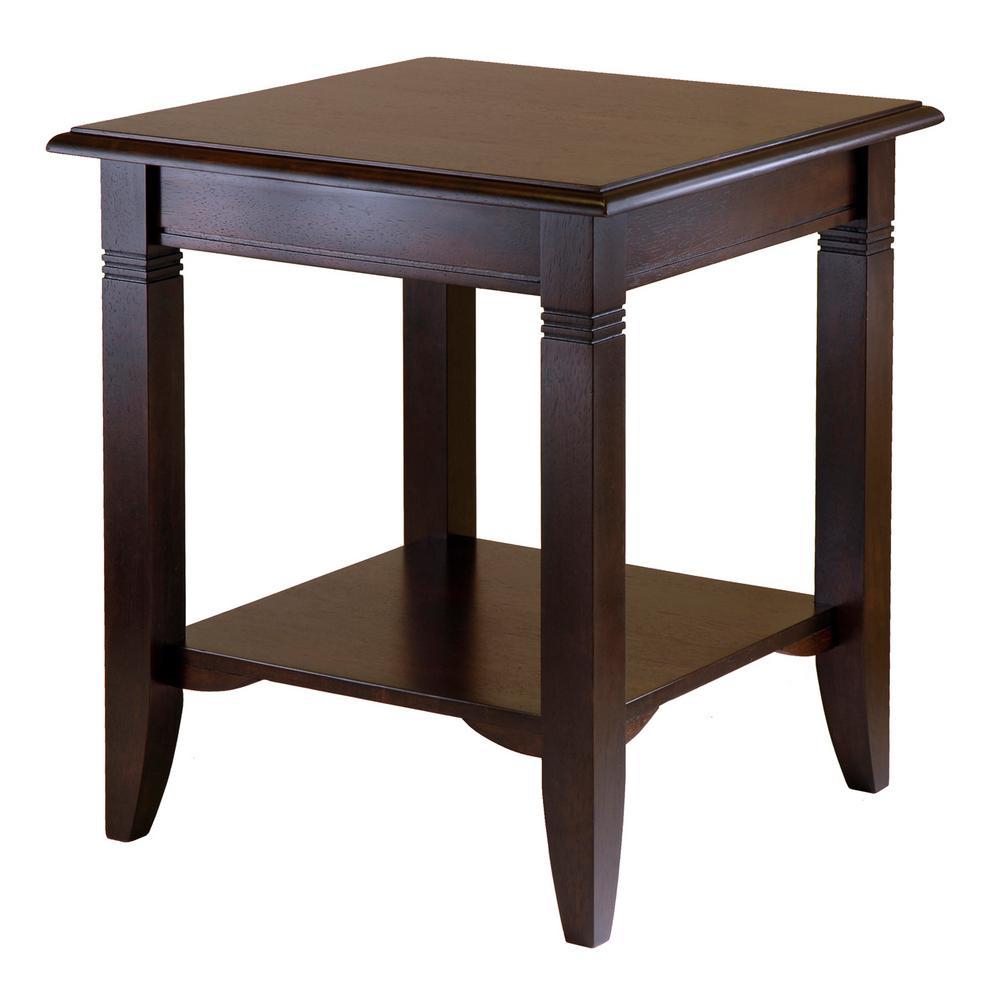 Nolan Cappuccino End Table