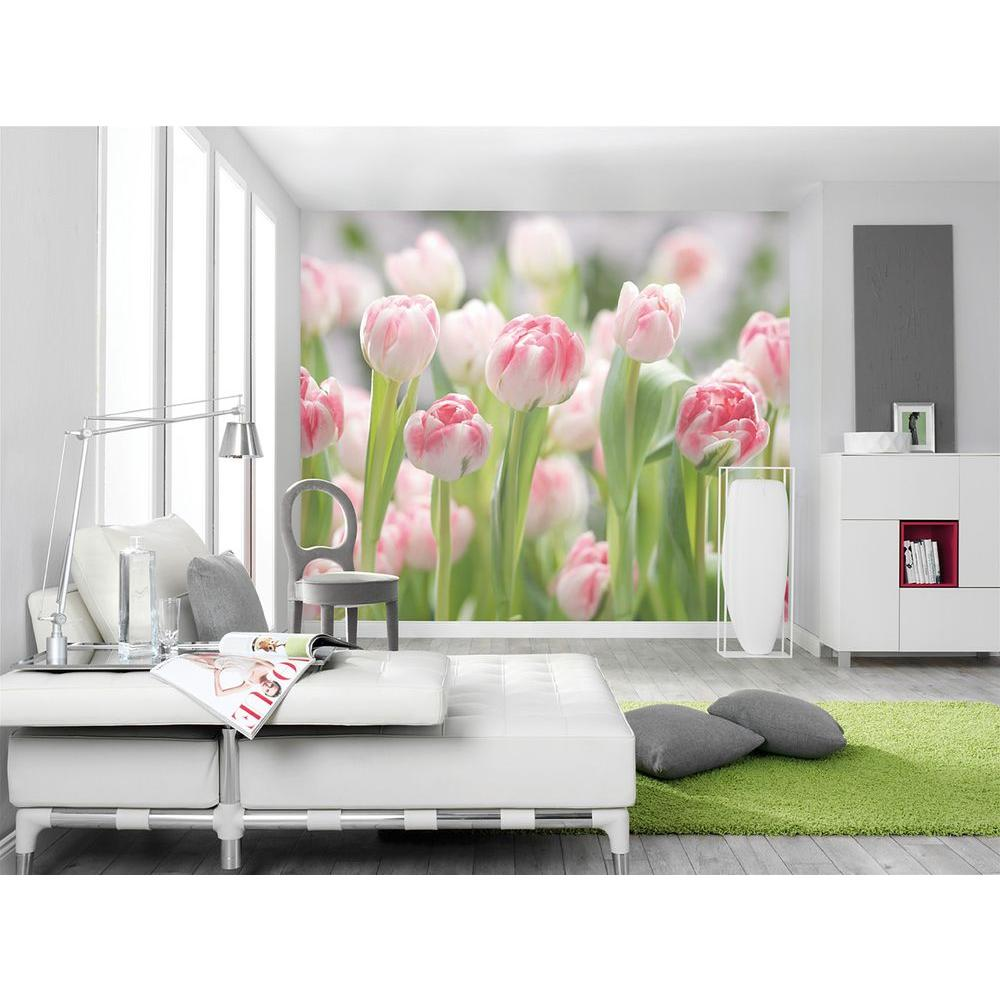 Komar 100 in. x 145 in. Secret Garden Wall Mural