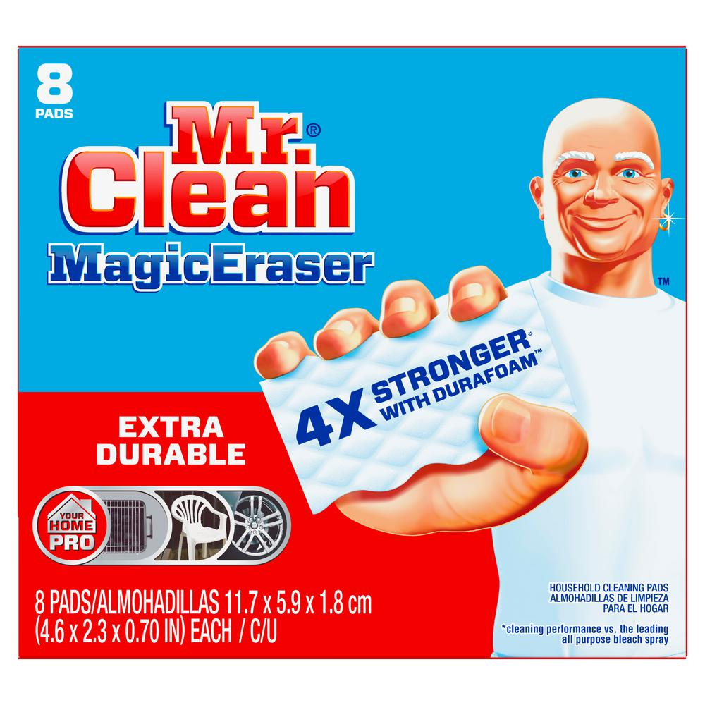 MrClean Mr. Clean Extra Power Magic Erasers (8-Pack), White