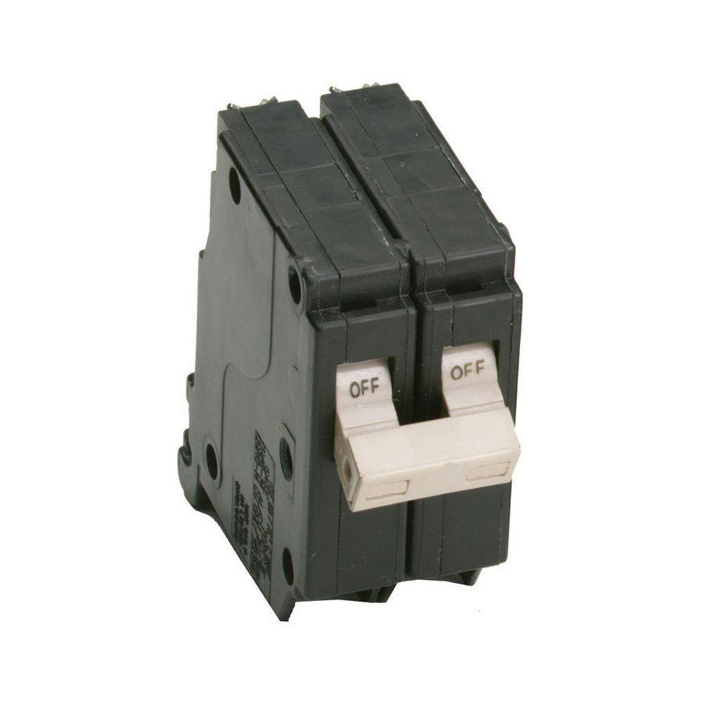 15 Amp 3/4 in. Double-Pole Type CH Circuit Breaker