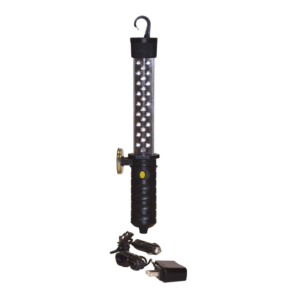 Might-D-Light 35 LED Rechargeable Work Light With AC/DC