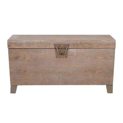Dixon Burnt Oak Trunk Cocktail Table