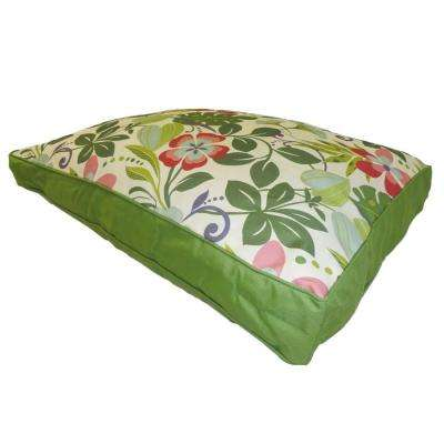 Medium to Large Fun Floral Multi-Color Pet Bed
