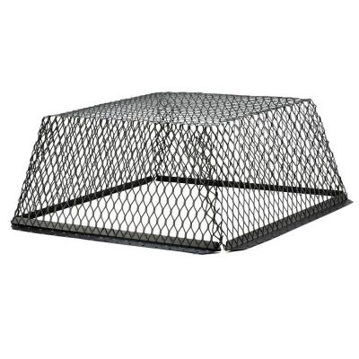 VentGuard 30 in. x 30 in. Stainless Steel Roof Wildlife Exclusion Screen in Black
