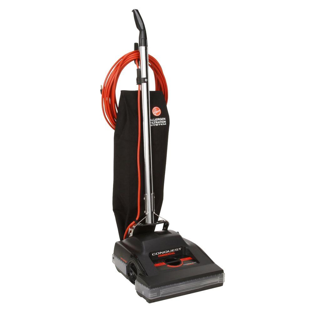 Hoover Commercial Conquest 14 In. Bagged Upright Vacuum Cleaner