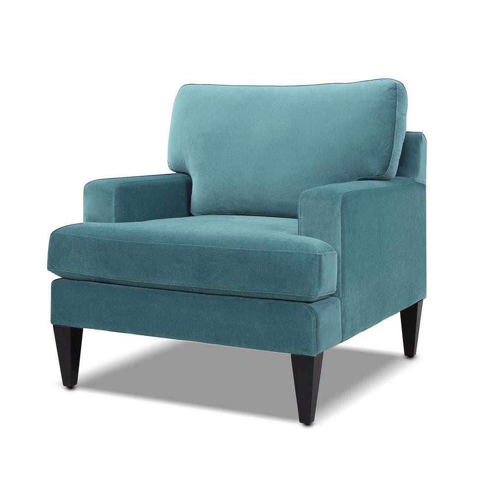 Enzo Arctic Blue Lawson Accent Chair