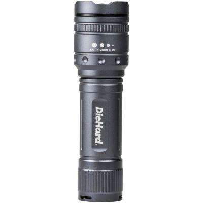 600-Lumens Twist Focus Flashlight