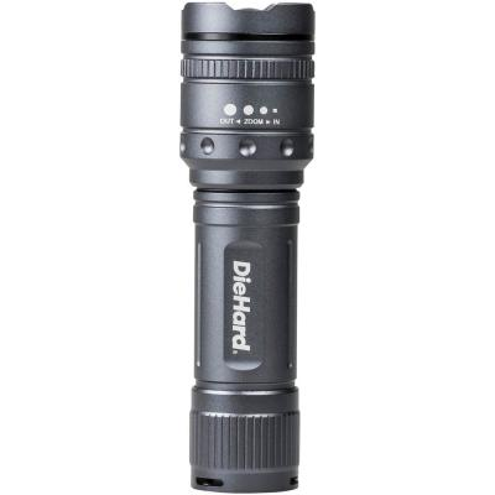 600-Lumens Twist Focus Flashlight