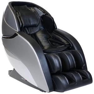 Infinity Genesis Black 3D Massage Chair with Zero Wall Technology and Total Sole Reflexology