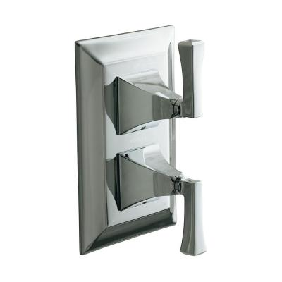 Memoirs 2-Handle Stately Thermostatic Valve Trim Kit in Polished Chrome (Valve Not Included)