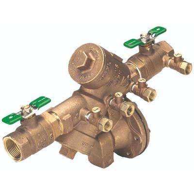 3/4 in. Lead-Free Bronze Reduced-Pressure Backflow Preventer