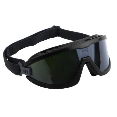 4 in. Green Safety Black IR5 Lens Brazing Goggles
