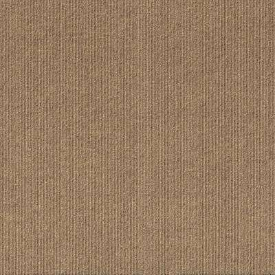 Premium Self-Stick Willingham Chestnut Pattern 18 in. x 18 in. Carpet Tile (16 Tiles/Case)