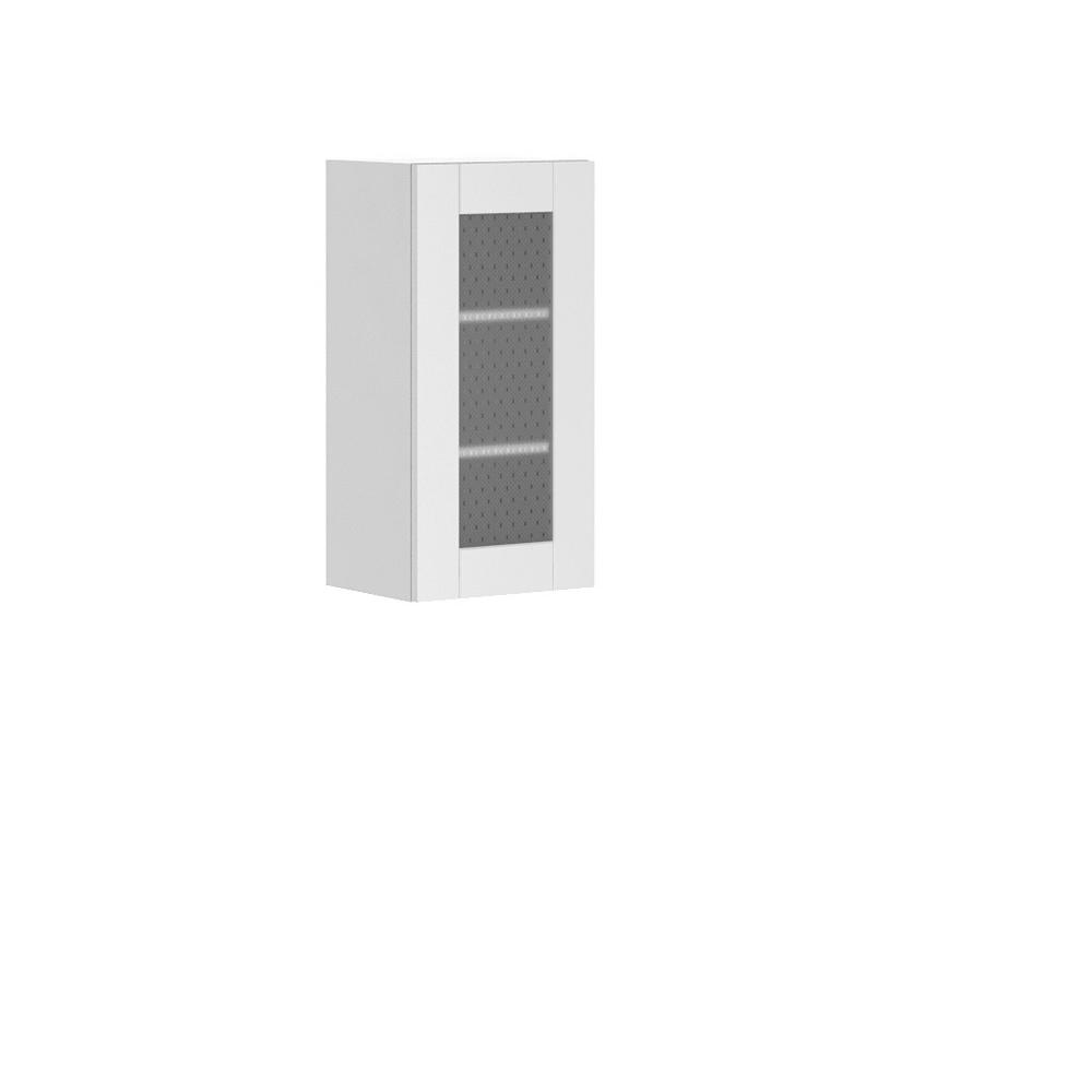 Dublin Ready to Assemble 15x30x12.5 in. Oxford Wall Thermofoil Cabinet with