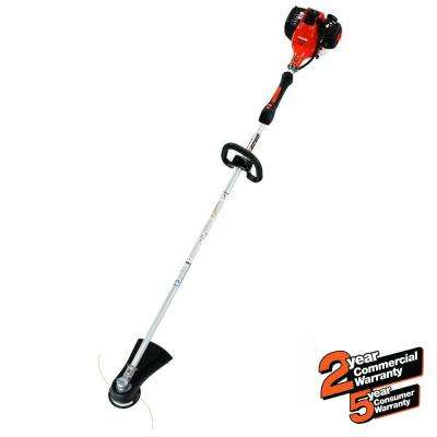 28.1cc Gas 2-Stroke Cycle Straight Shaft Trimmer