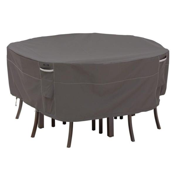 Large Round Patio Table And Chair Set