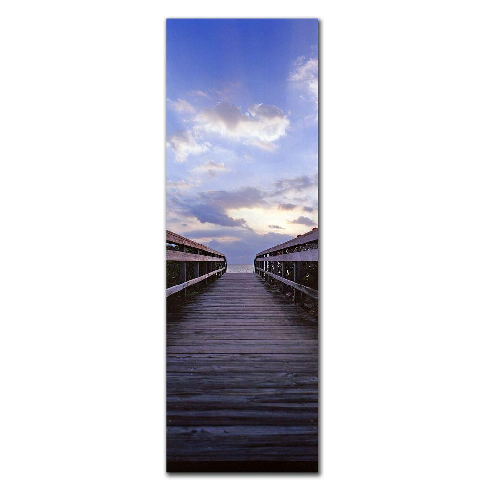 null 47 in. x 14 in. Destination Canvas Art
