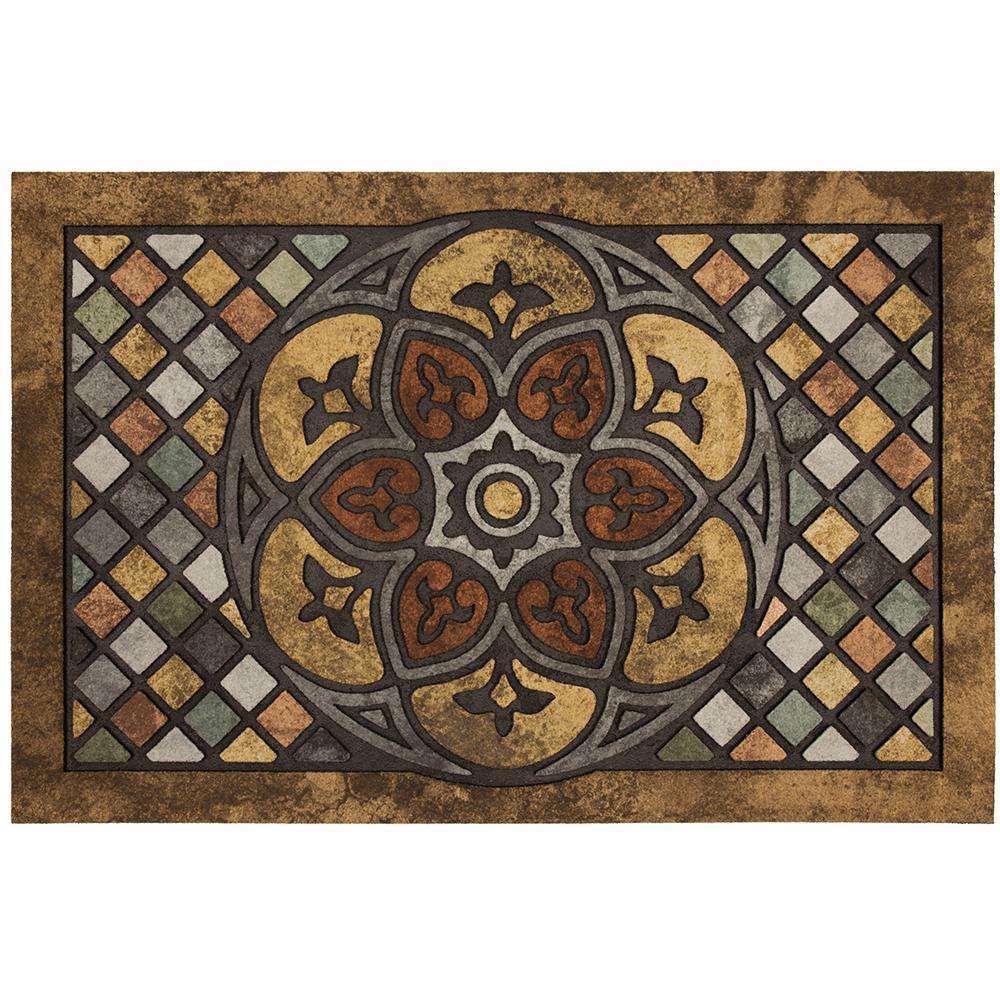 Mosaic 23 in. x 35 in. Door Mat
