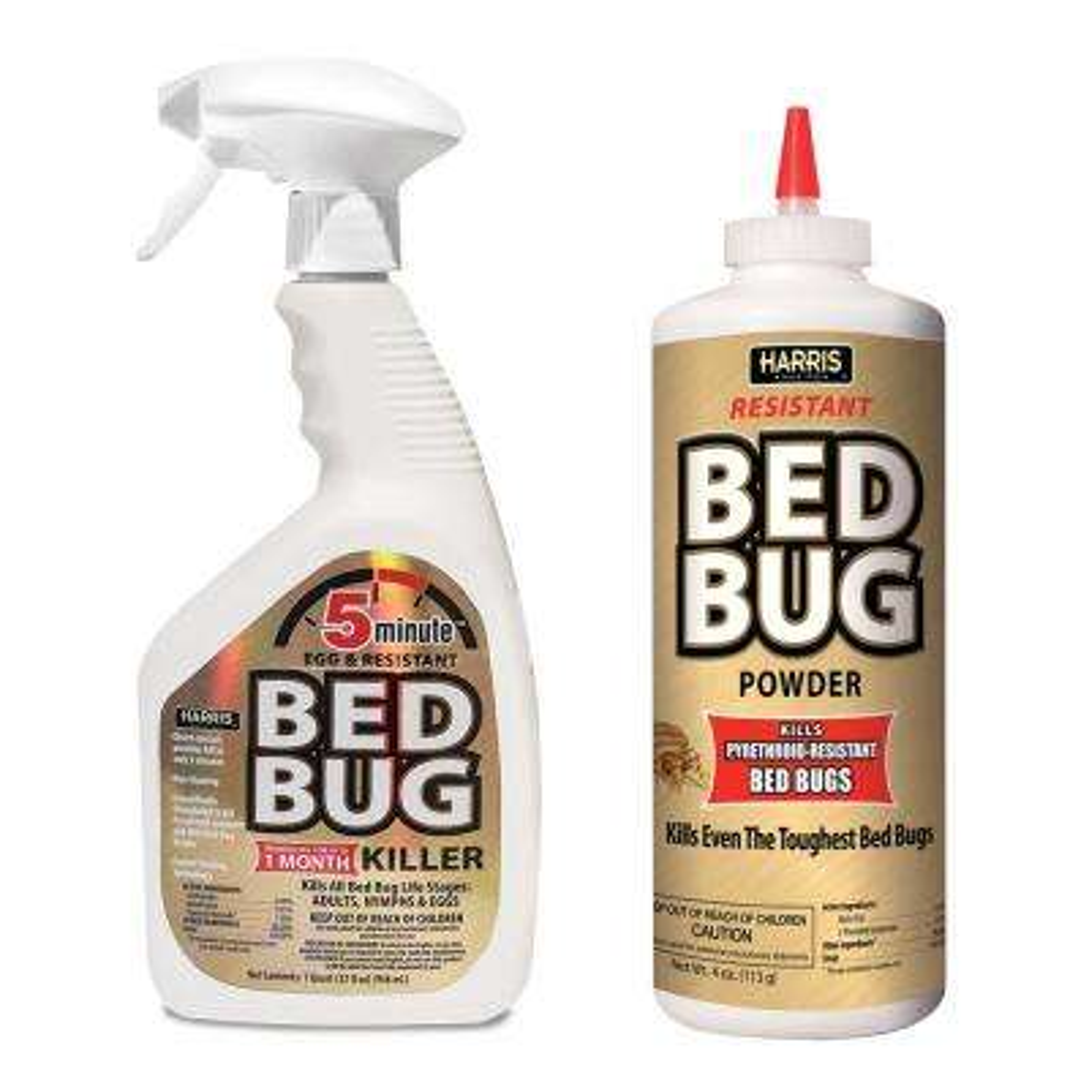 5-Minute Bed Bug Killer 32 oz. and Resistant Bed Bug Powder Value Pack