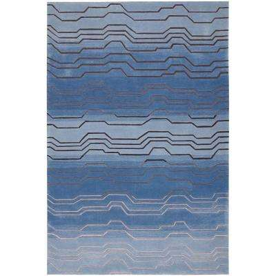 Contour Azure 7 ft. 3 in. x 9 ft. 3 in. Area Rug
