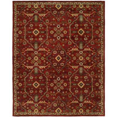 Empire Russet 6 ft. x 9 ft. Area Rug