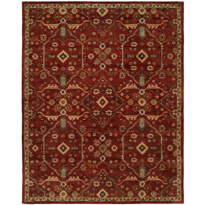 Empire Russet 9 ft. x 12 ft. Area Rug
