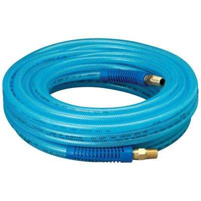 1/4 in. x 50 ft. Polyurethane Air Hose with Field Repairable Ends