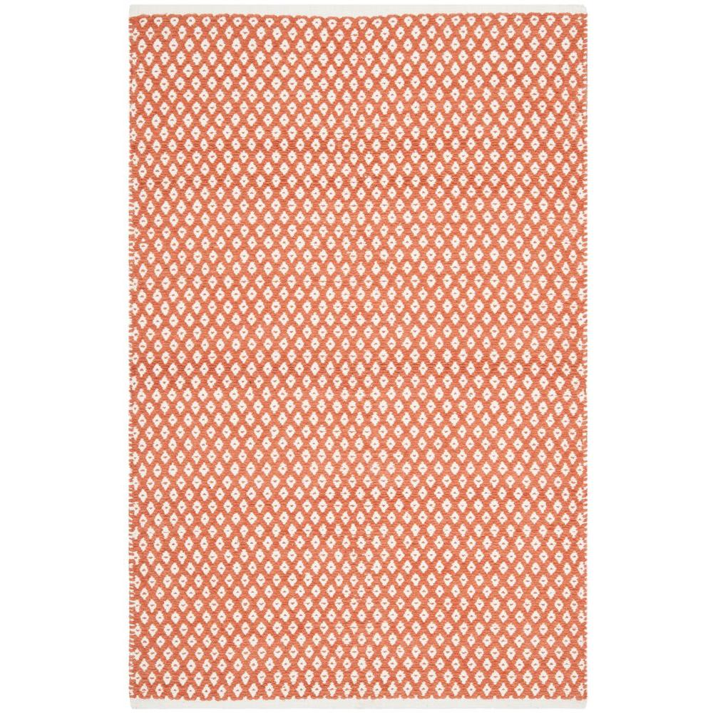 Safavieh Boston Orange 4 ft. x 6 ft. Area Rug