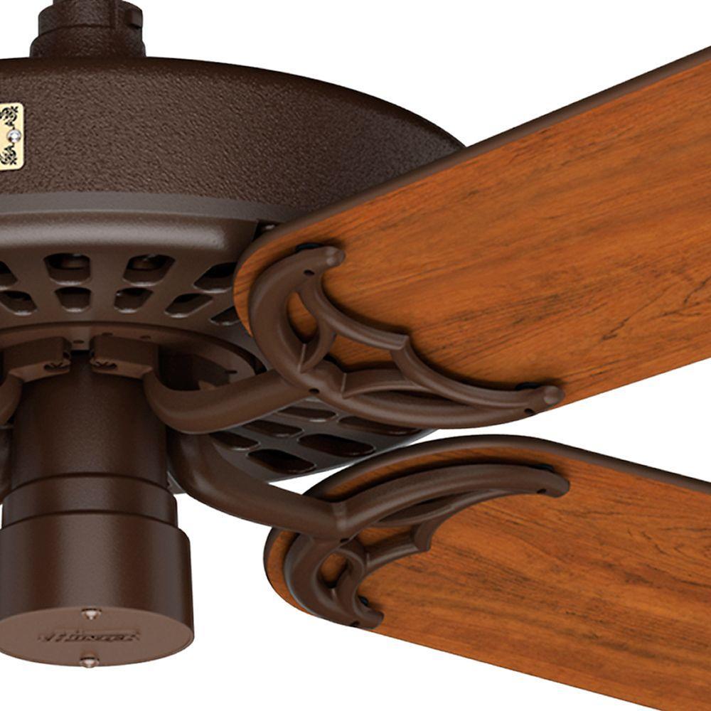 Chestnut Brown Hunter Fan Hunter 26331 24-Inch Original Extension Downrod