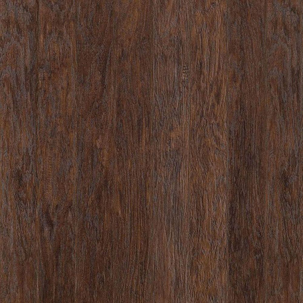home decorators collection hand scraped dark hickory 12 mm thick x 5 7 16 in wide x 48 in