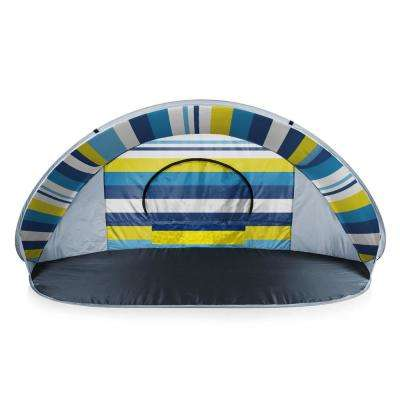Manta Beach Stripes Portable Beach Tent