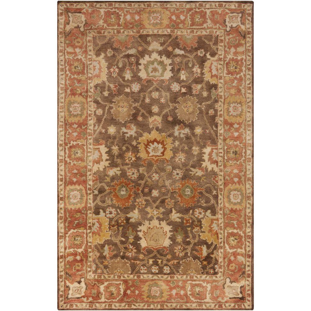 Qasim Mocha 8 ft. x 10 ft. Indoor Area Rug