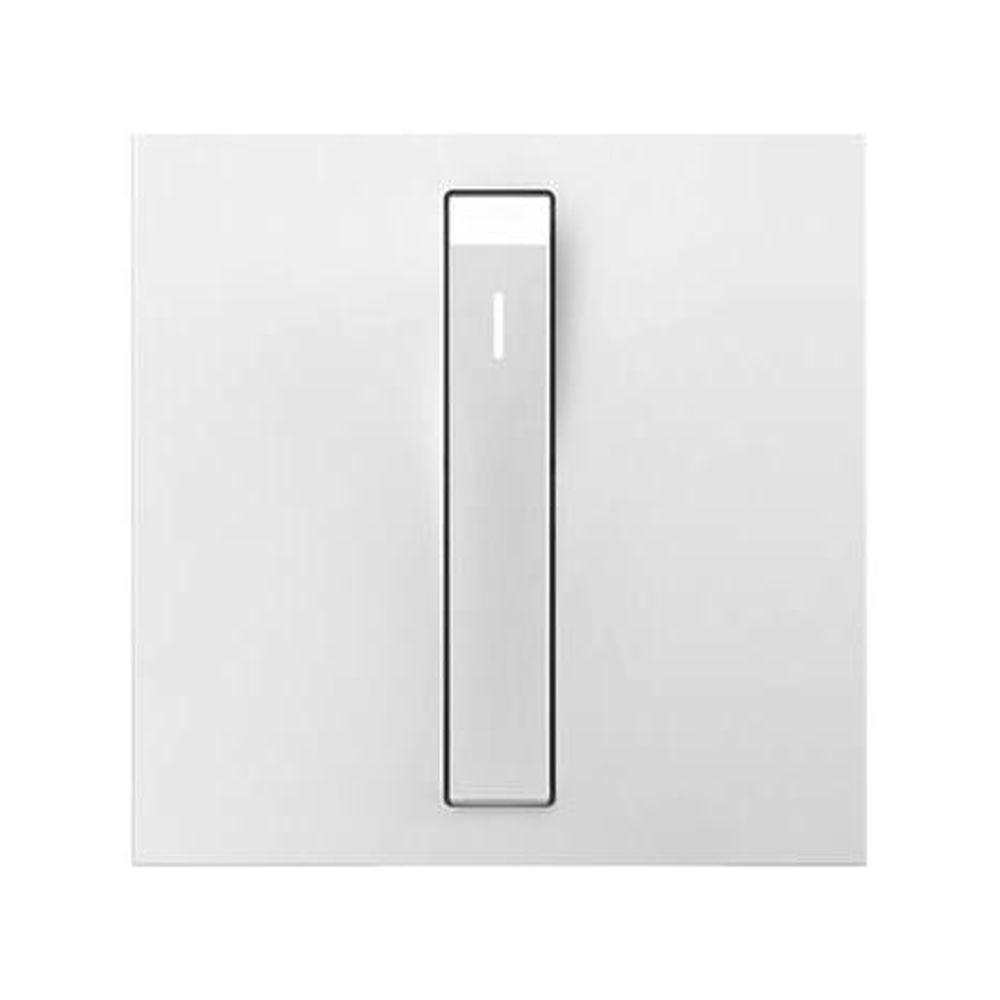 Legrand adorne 15 Amp Single Pole 3-Way Rocker Whisper Switch, White