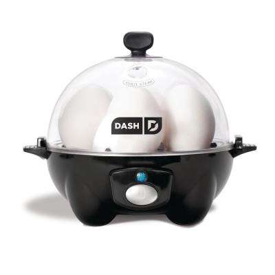 Dash Rapid 6-Egg Cooker in Black