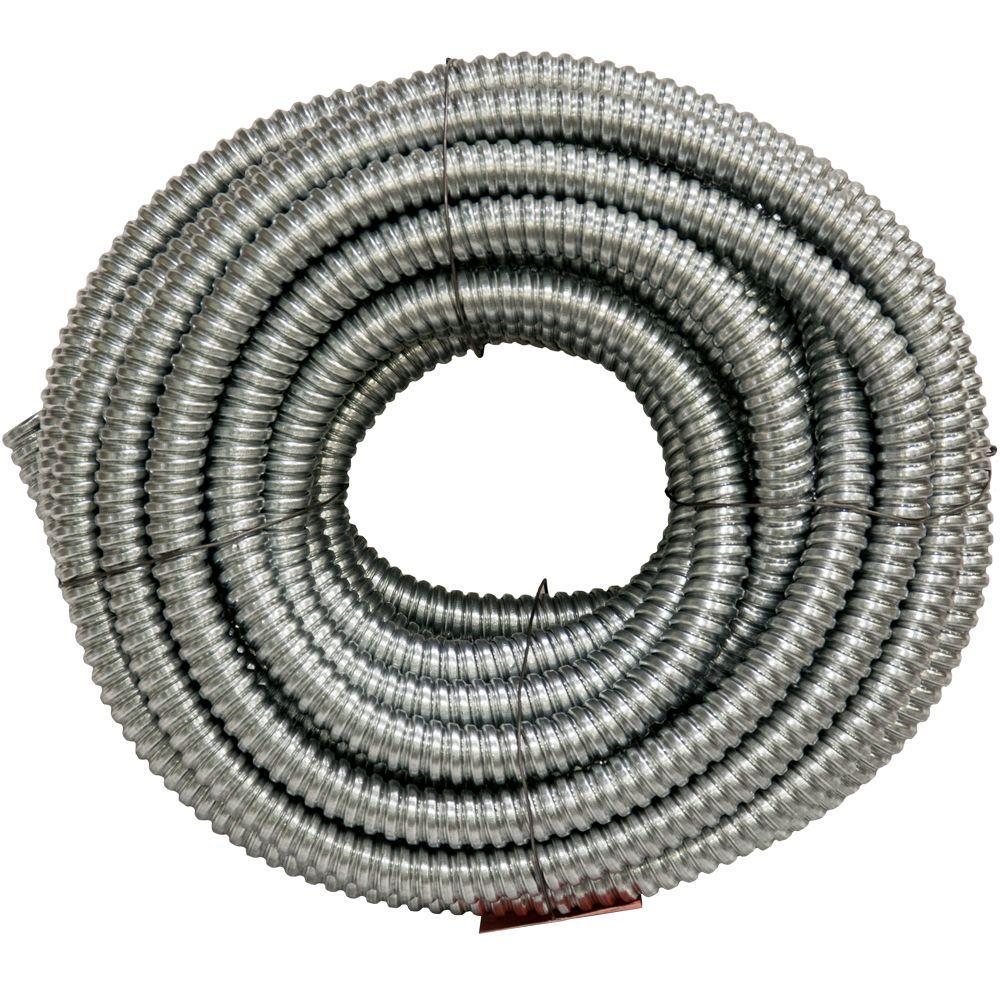 3/4 x 100 ft. Flexible Steel Conduit
