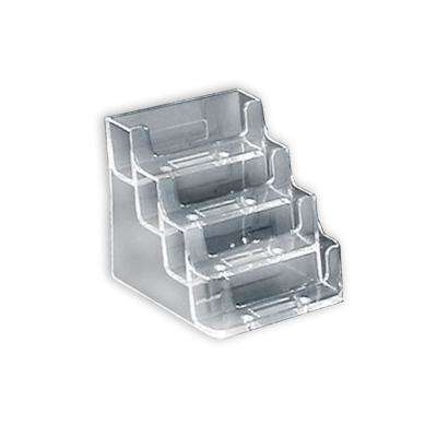 4-Tier Clear Business/Gift Card Holder(10-Pack)