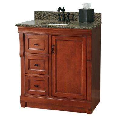 D Bath Vanity With Left Drawers In