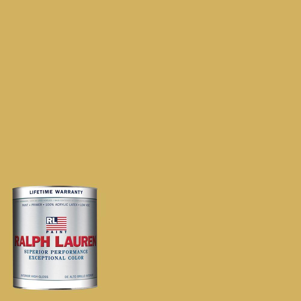 Ralph Lauren 1-qt. Brass Hi-Gloss Interior Paint