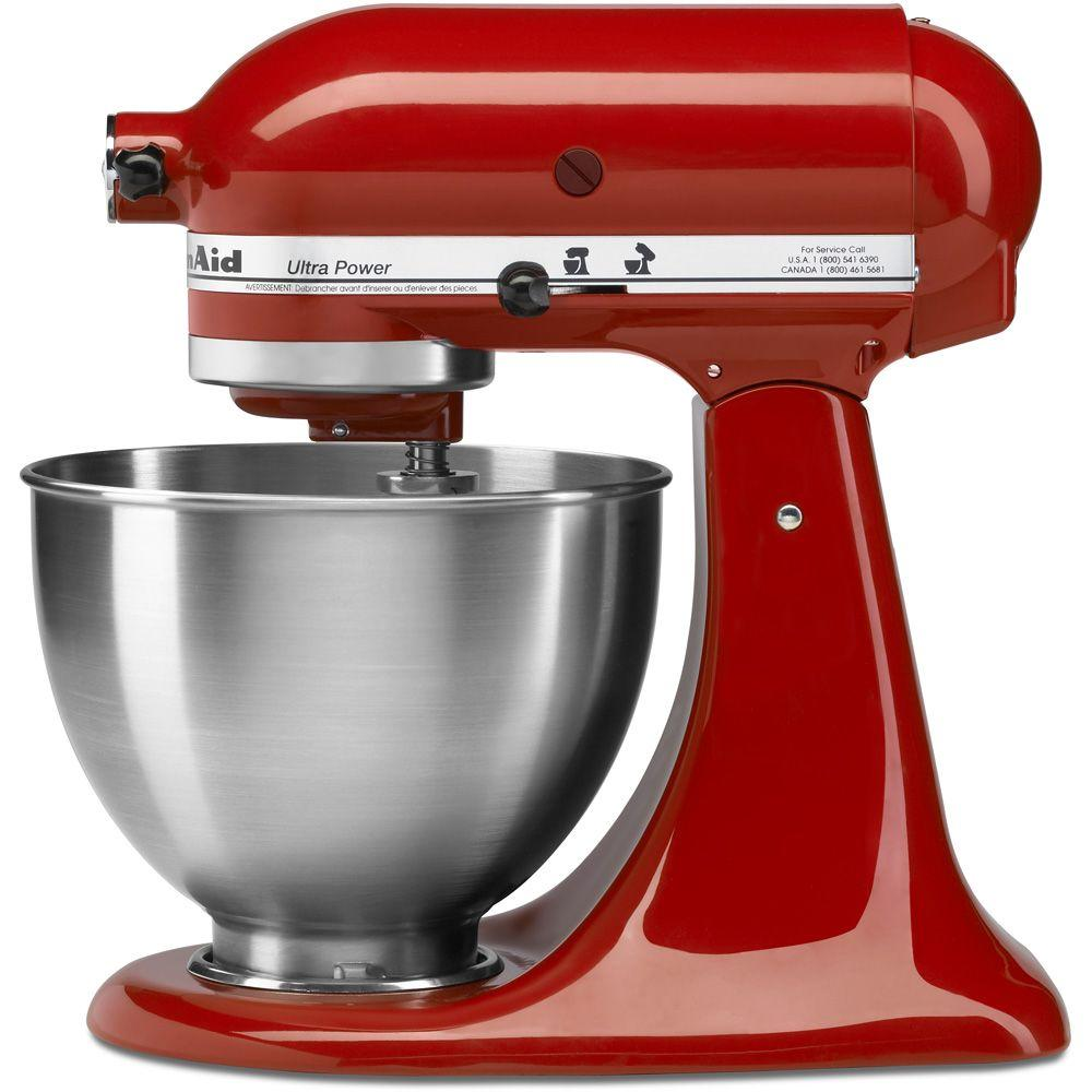 KitchenAid Ultra Power 4.5 Qt. Stand Mixer in Empire Red
