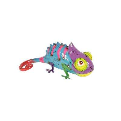 11-3/4 in. Spiny Chameleon Statue